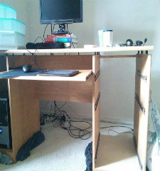 Green Guys Junk Removal provides desk removal in marietta ga